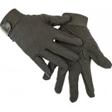 Перчатки из хлопка арт.RUSH1217- черный- XS