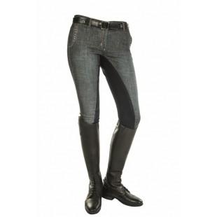 Бриджи ELEGANCE,джинсовые арт.H4761